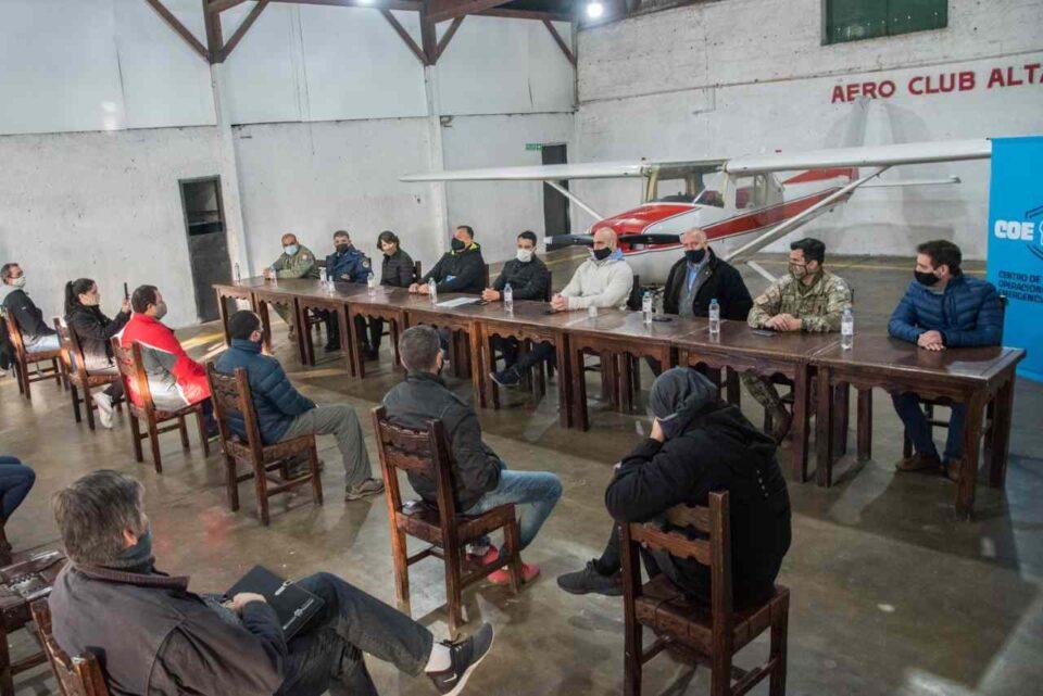 La Red Aero Sanitaria de la Regional 8 fue puesta en funcionamiento durante un acto realizado en el Aero Club de nuestra ciudad.