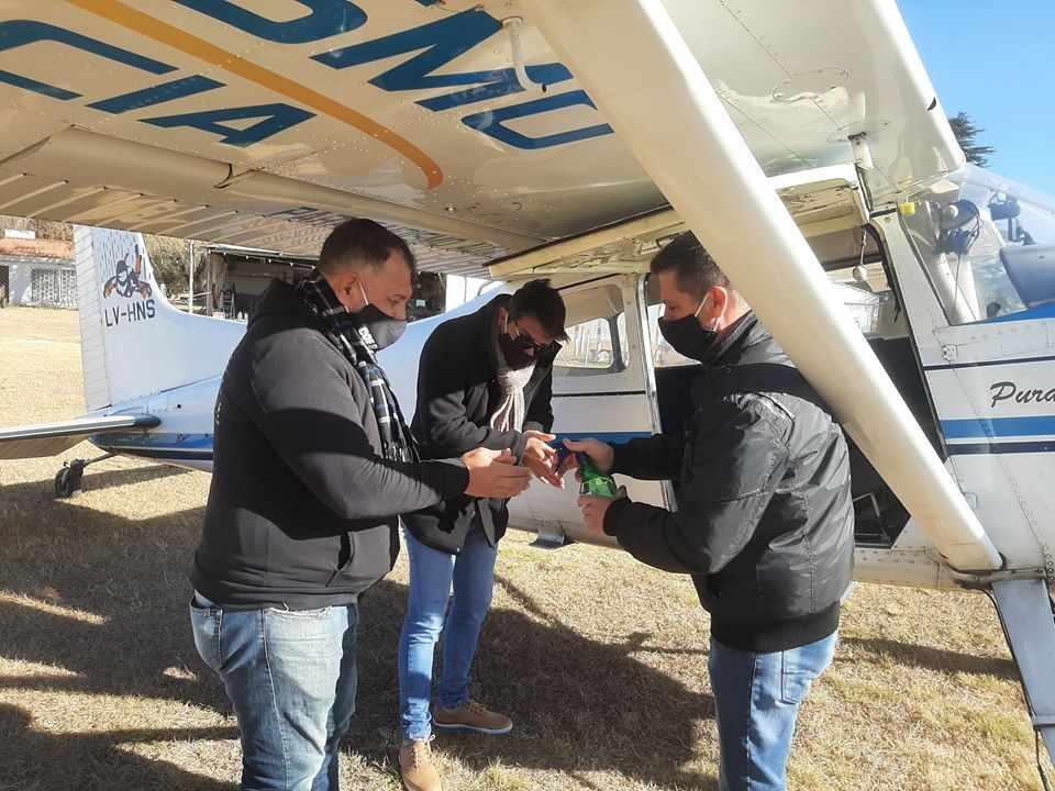 El acto formal se realizará en el Aero Club de nuestra ciudad y contará con la presencia de autoridades del COE Central de la provincia.