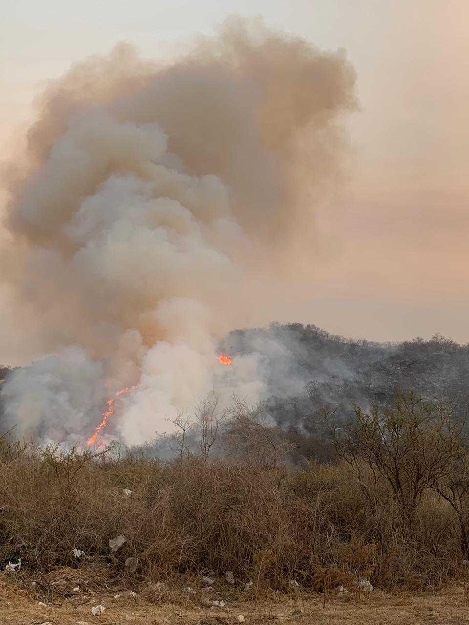 Domingo agitado: los incendios no dieron tregua