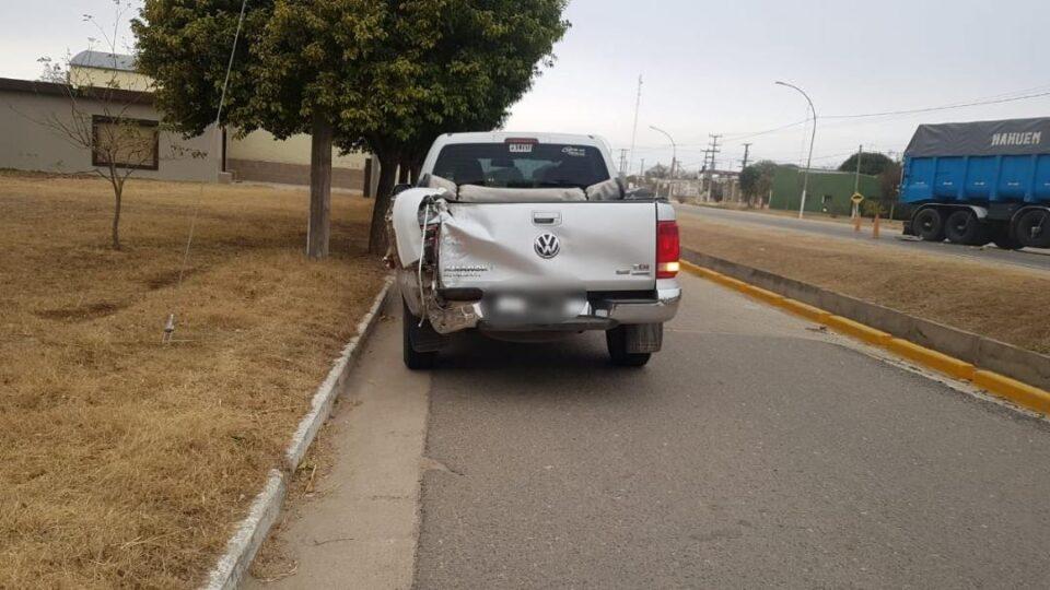 El siniestro vial ocurrió a las 15:30hs, en la ruta C-45 a la altura del km 55, en la localidad de Lozada