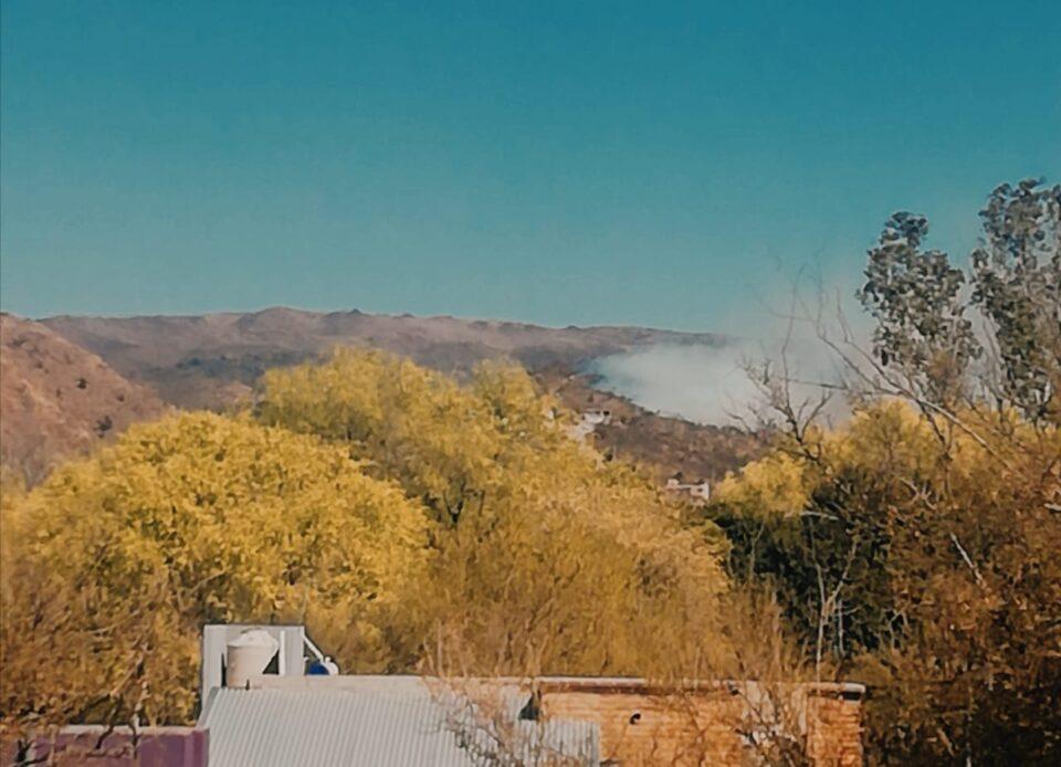 Sucede ahora: Incendio en Alta gracia