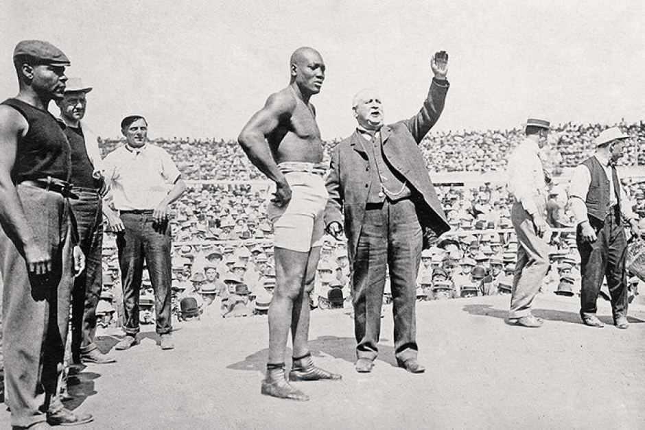 Jack Johnson, un gigante negro que derrotó rivales no sólo sobre el ring.
