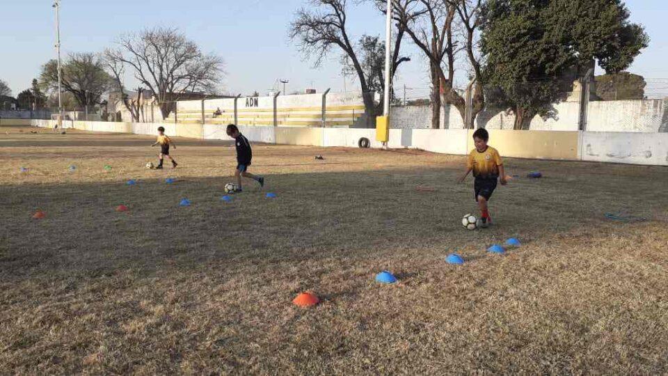 El Escuela de Fútbol de Deportivo Norte volvió a la actividad