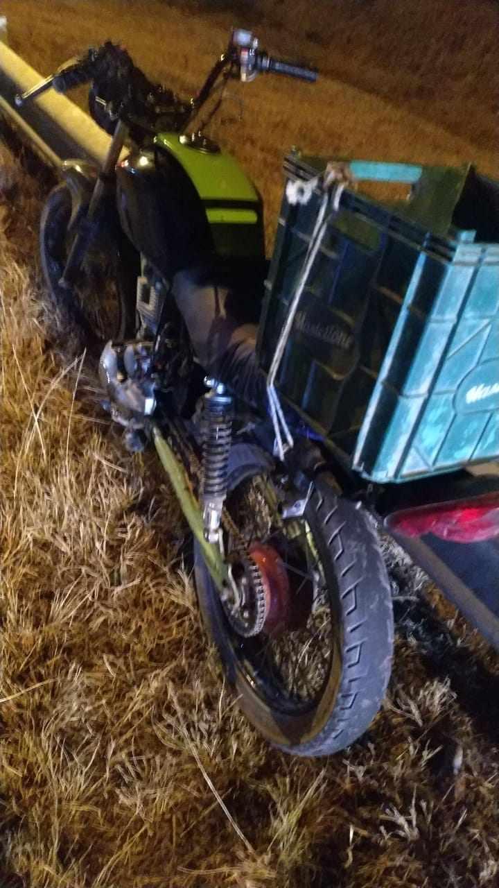 Accidente con fractura expuesta para el conductor
