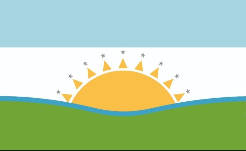 Con identidad propia: Falda del Carmen ya tiene su bandera