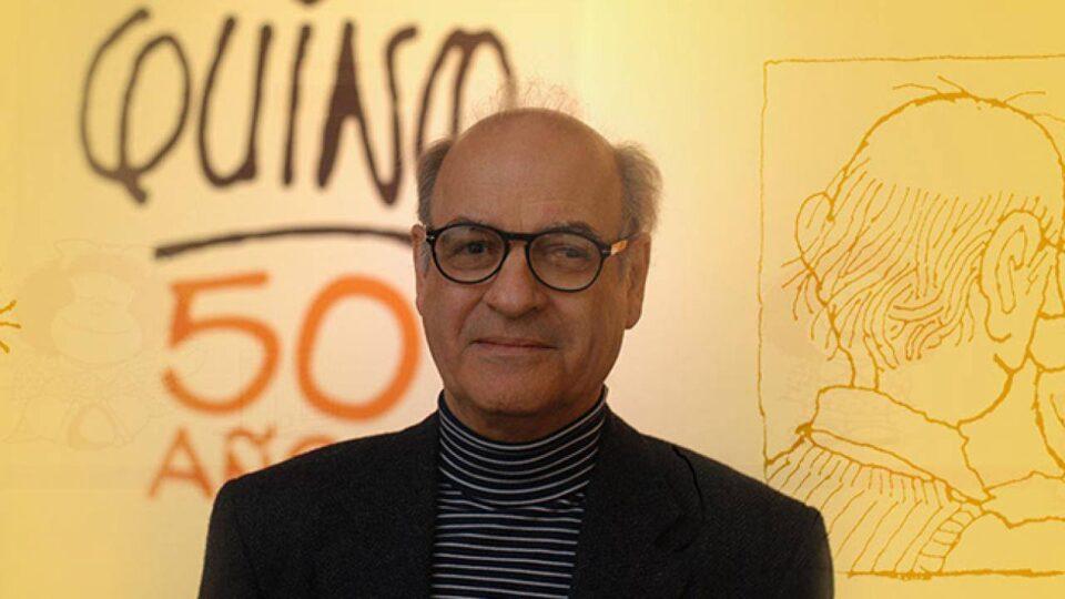 """Murió Quino, el """"papá"""" de Mafalda"""