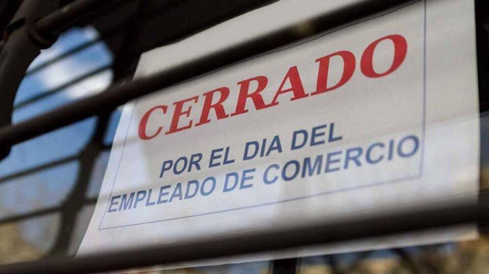 La celebración del Día del Empleado de Comercio se trasladó al lunes 28