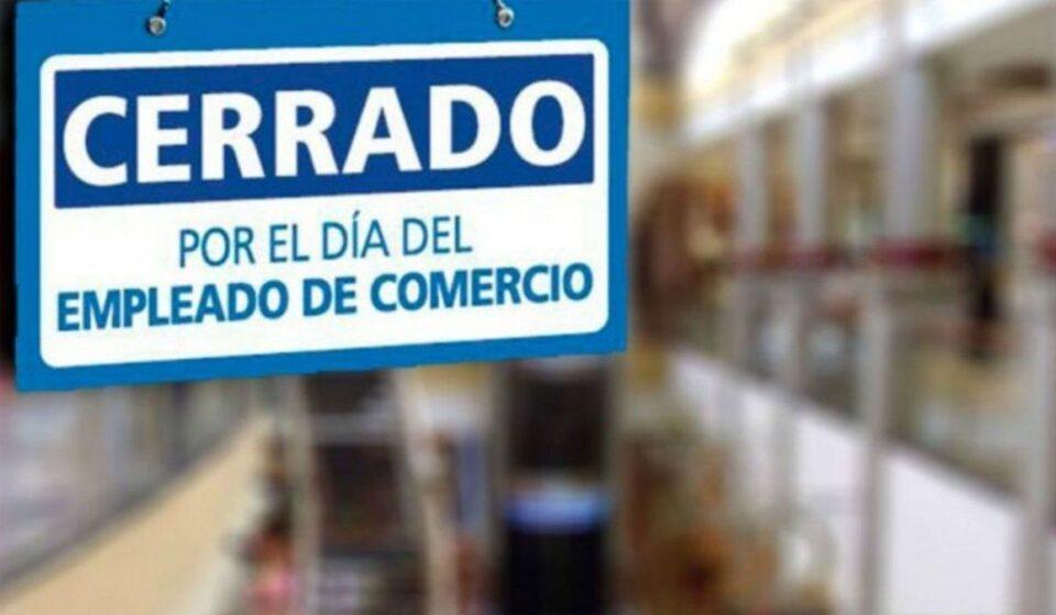 Comercios cerrados: hoy festejan su día los Empleados de Comercio