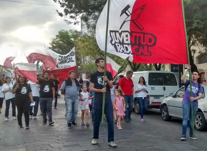 """La Juventud Radical se """"despegó"""" de Pinto y criticó a la prensa"""