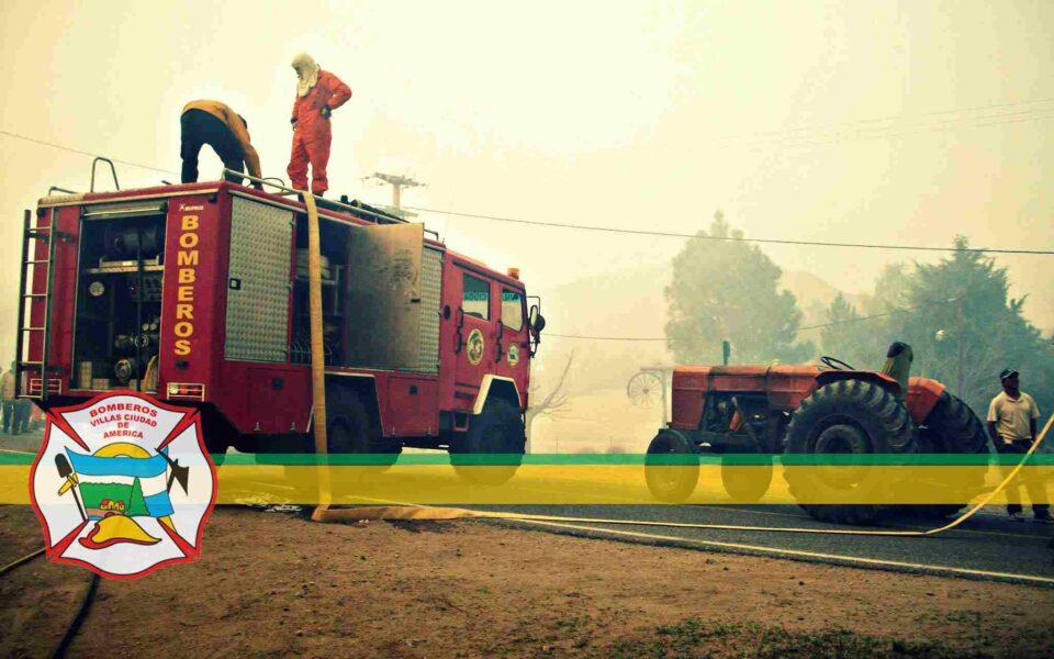 Villa Ciudad de América está de luto: falleció un joven bombero de la localidad