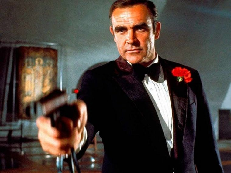 Murió Sean Connery, el legendario James Bond