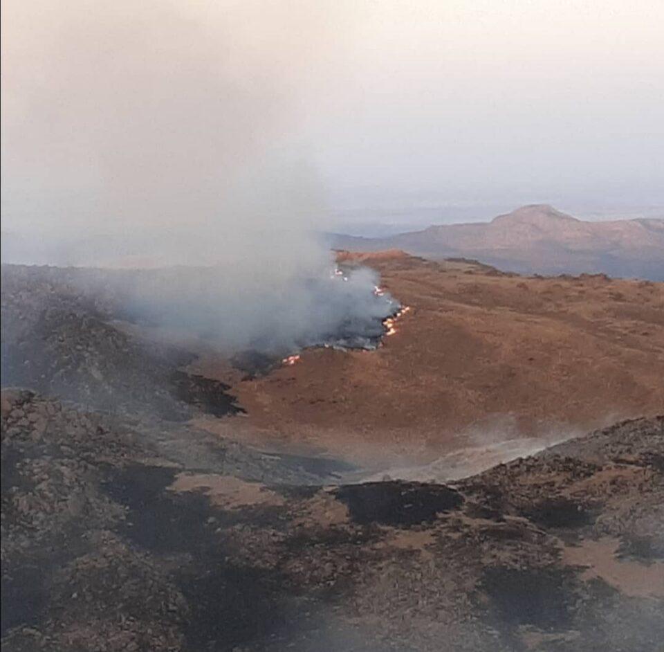 El fuego no da tregua en el norte de Punilla