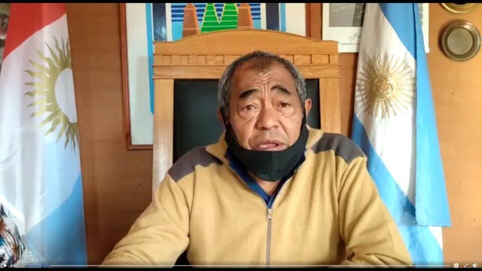 El Jefe Comunal de Los Cedros dio las condolencias a los fallecidos