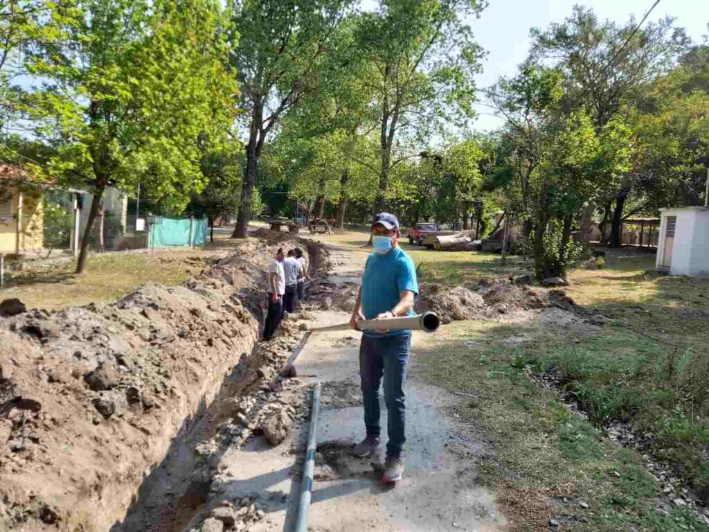 Avanza el agua potable en el Valle de Anisacate