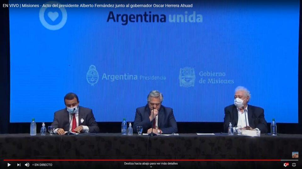 Ahora: Desde Misiones Alberto Fernández anunciará las nuevas medidas sanitarias