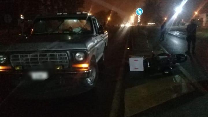 Ruta 5 y Montevideo: otro accidente con lesionado