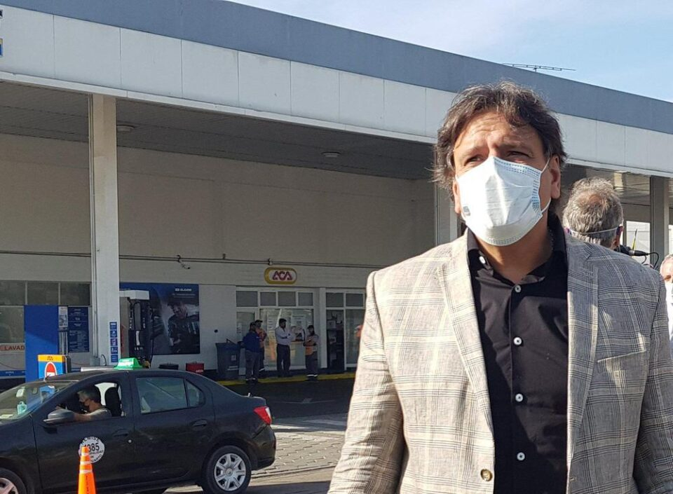 """Alfonso Mosquera: """"Mi renuncia está a disposición del gobernador Schiaretti"""""""