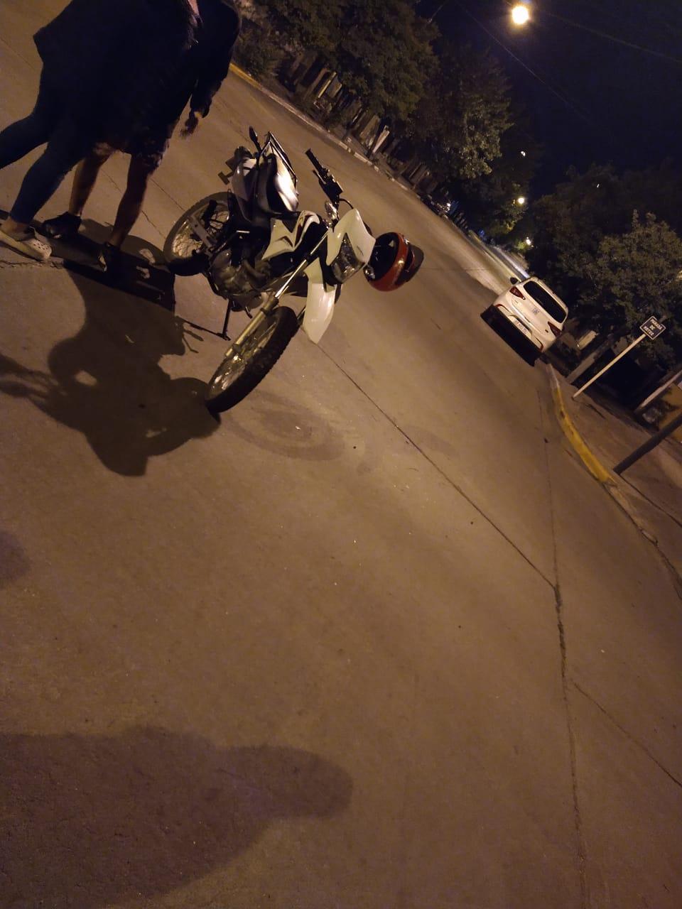 Accidente en calle Dalinger sin personas heridas
