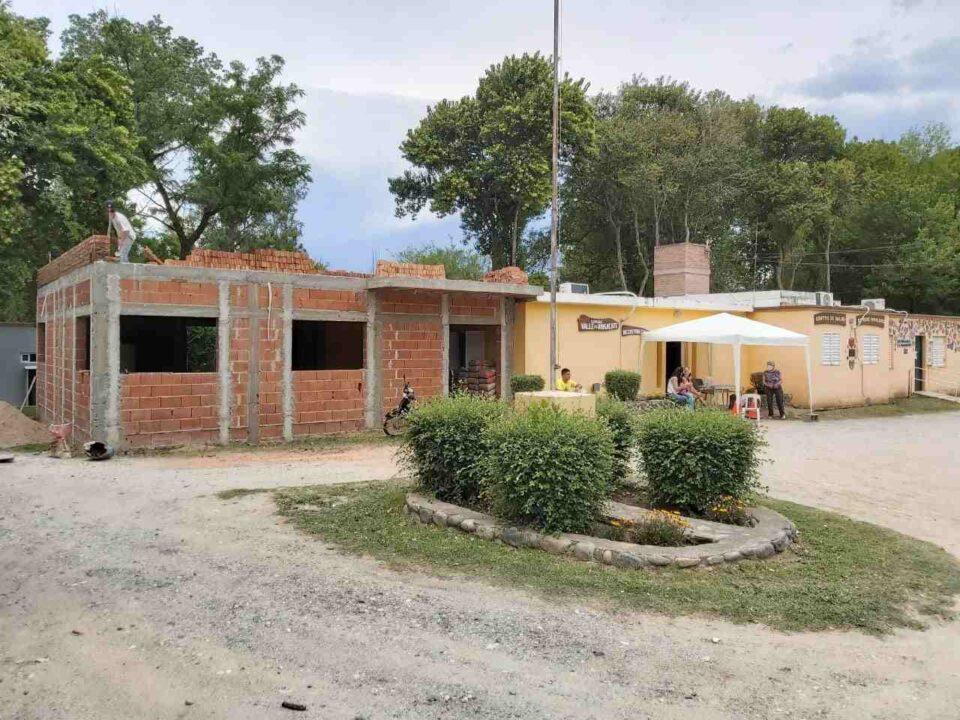 Valle de Anisacate: Continúan con más obras en la comuna