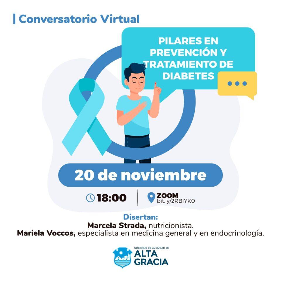 Conversatorio virtual sobre diabetes