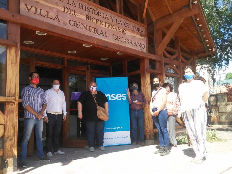 Anses llegó hoy a Villa General Belgrano
