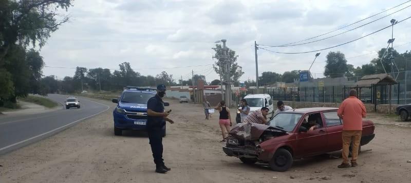 Accidente en Anisacate: no hubo heridos de gravedad