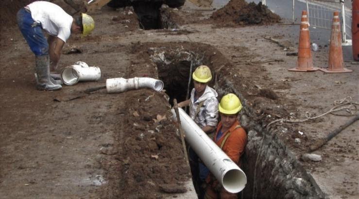 Tratarán proyecto para terminar cloacas en barrio Liniers