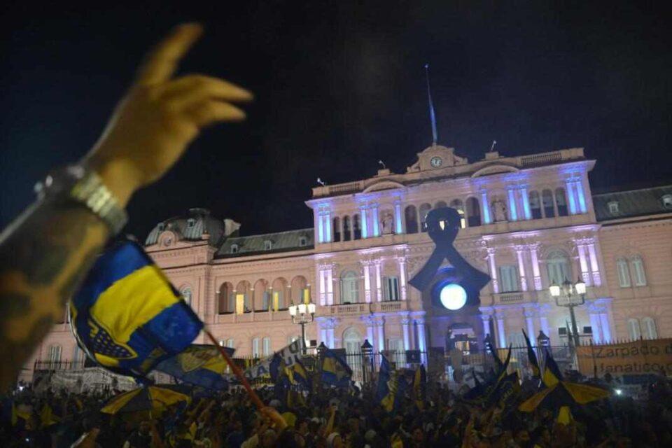Comenzó en Casa Rosada el velatorio de Diego Maradona