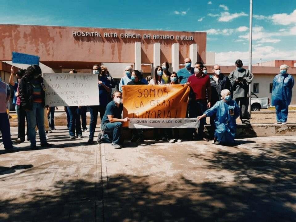Día del médico: Nada que festejar en el Hospital Arturo Illia
