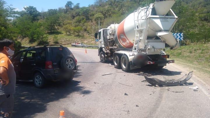 Otra vez la Ruta 5: accidente con un niño herido