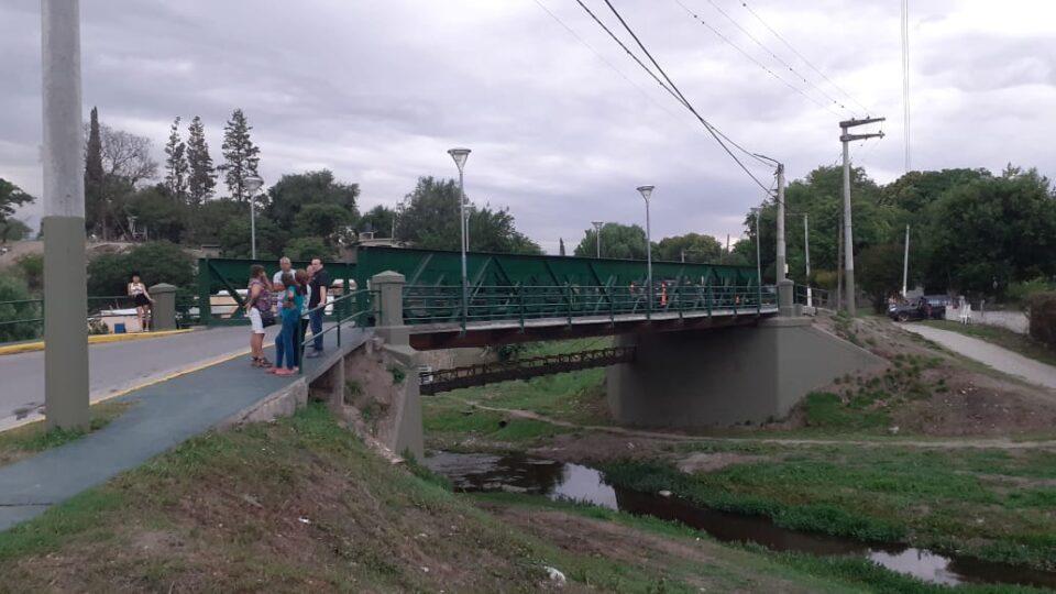 Pablo Ortíz y Marcos Torres recorrieron el Puente del Matadero