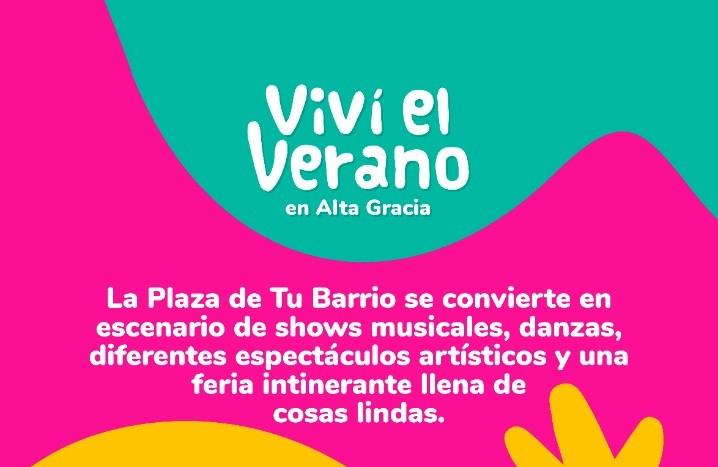"""""""La plaza de tu barrio"""": Alta Gracia lleva la música a todas las plazas de la ciudad"""