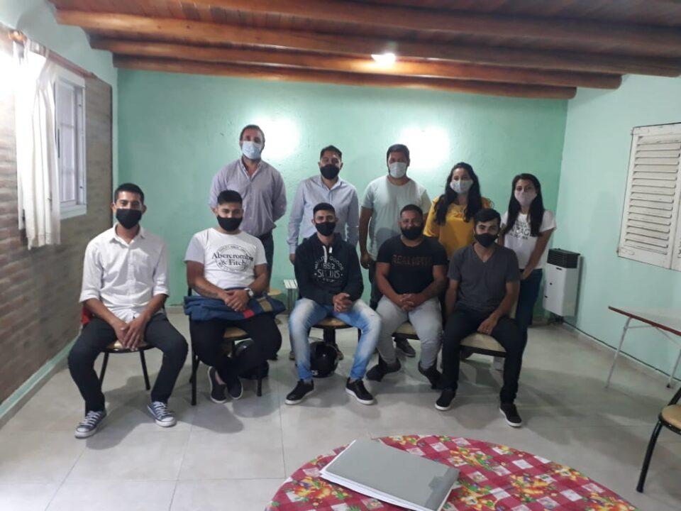 La Cooperativa de Jóvenes Técnicos de Alta Gracia se reunió con autoridades municipales