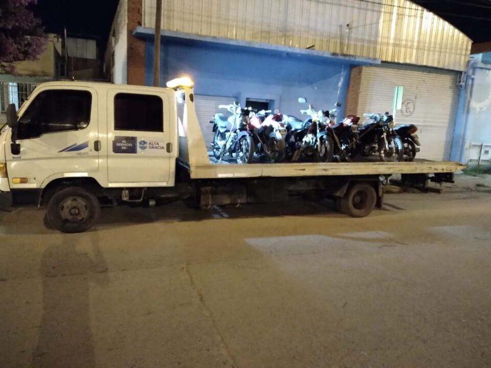 Secuestraron varias motos ayer en operativos de tránsito