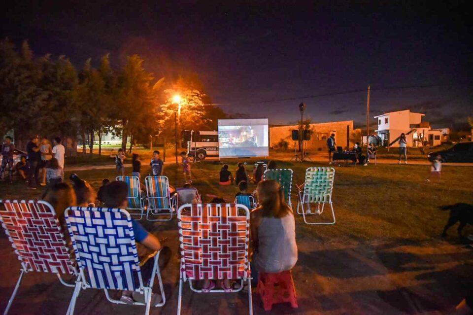 Se vivió una noche de cine en Despeñaderos