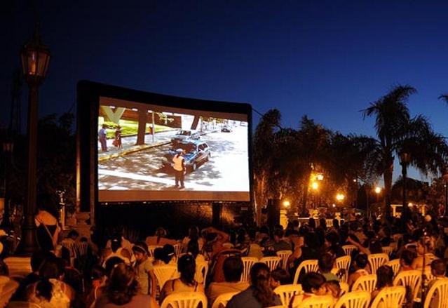 Hoy cine bajo las estrellas en Valle de Anisacate