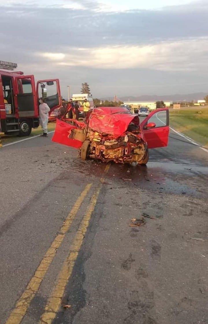 Cruce de Alto Fierro: una mujer falleció tras un grave accidente
