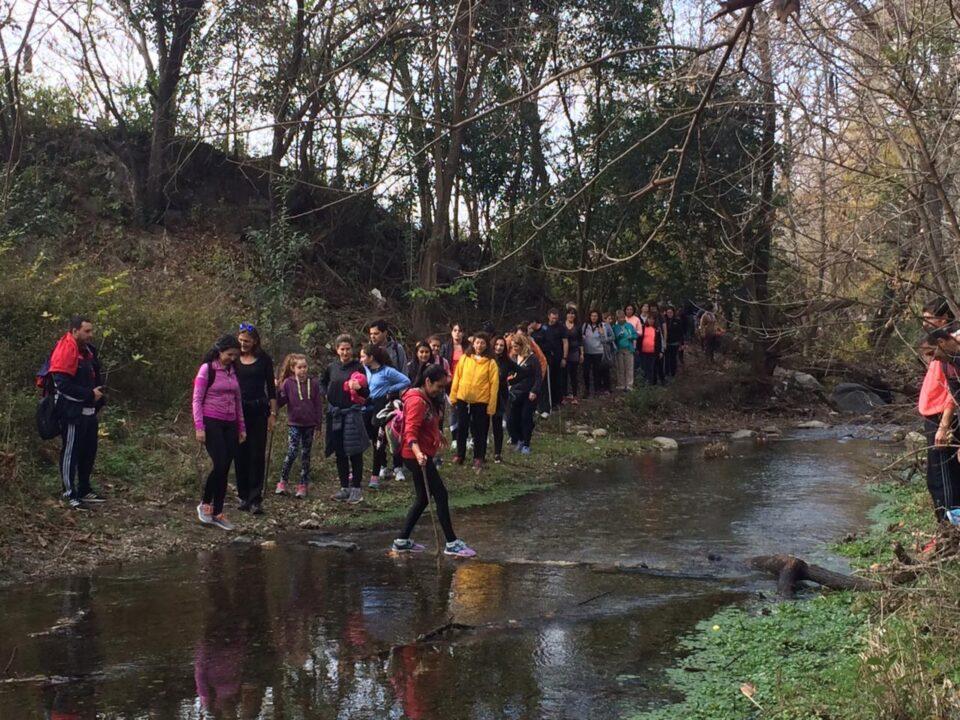 Continúan las caminatas recreativas en Alta Gracia