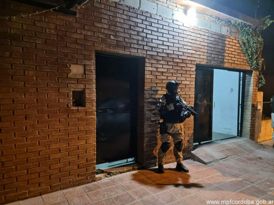 FPA desbarató un punto de venta de drogas en Alta Gracia