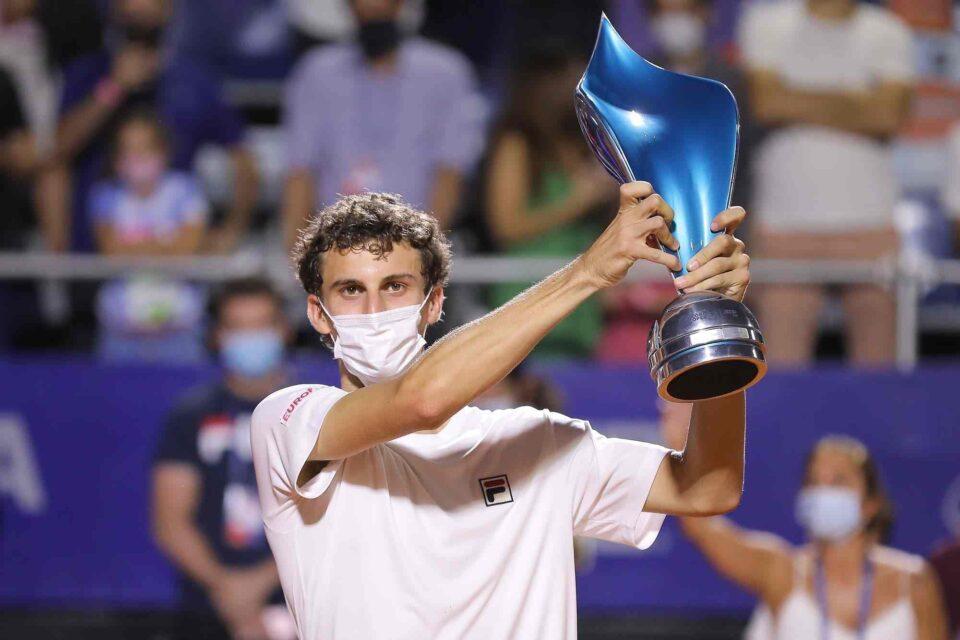 Juan Manuel Cerúndolo: campeón del Córdoba Open a los 19 años