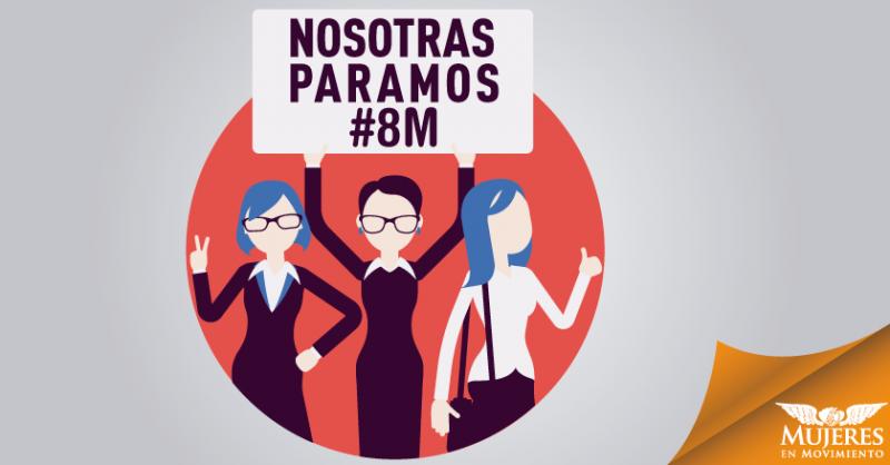 Se viene el paro nacional de mujeres por el 8 de Marzo