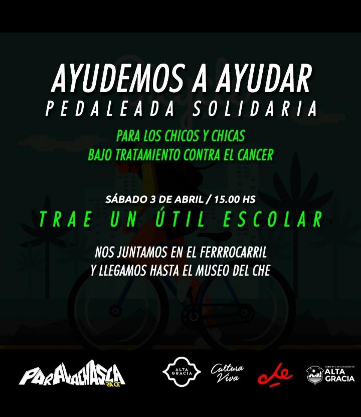 """Este sábado llevará a cabo la pedaleada solidaria """"Ayudemos a Ayudar"""""""