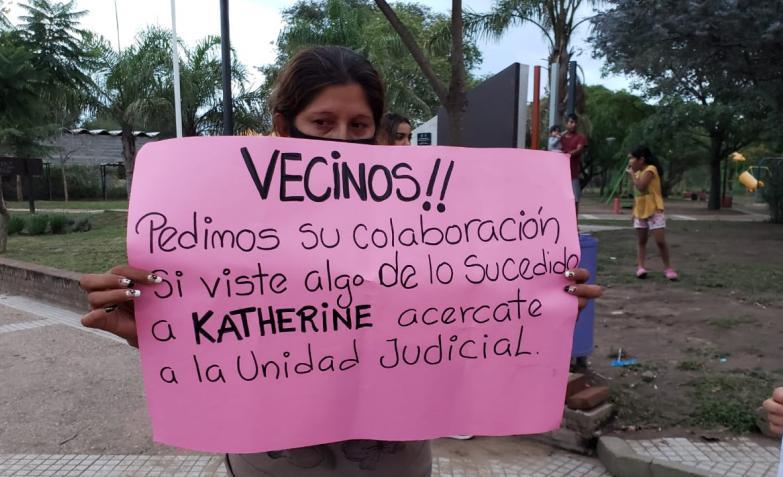 Córdoba: marcharon exigiendo justicia por el femicidio de Katherine Saavedra