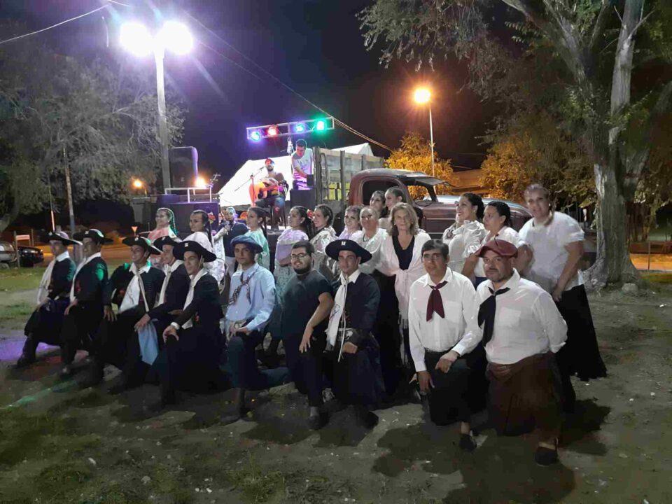 Se realizó un festejo por el fin de la temporada en Los Aromos