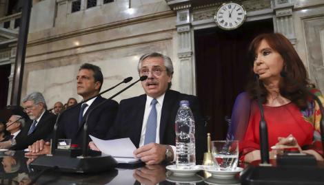 Alberto Fernández abrirá hoy el período 139 de sesiones ordinarias en el Congreso