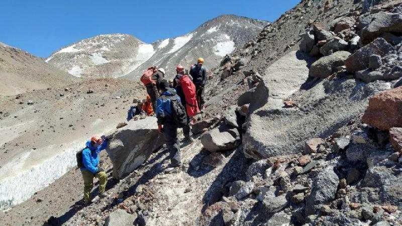 Rescataron los restos del montañista cordobés fallecido en el volcán catamarqueño