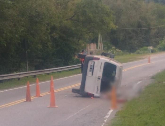 Accidente fatal en Ruta 5 cerca de La Serranita