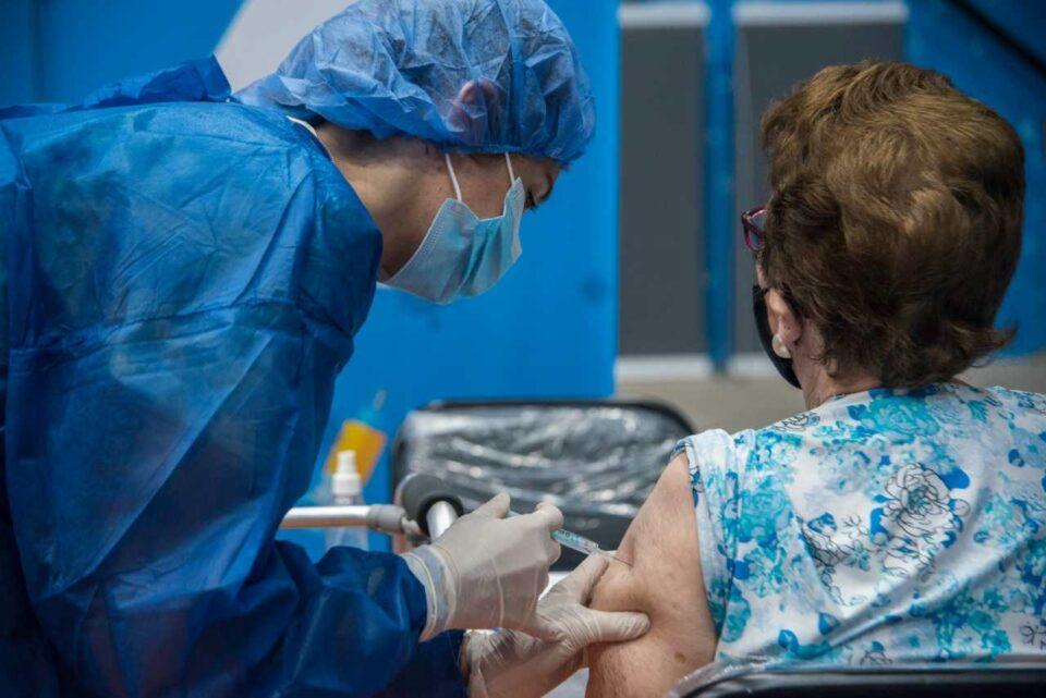 El martes se vacunaron 10.467 personas contra el Coronavirus