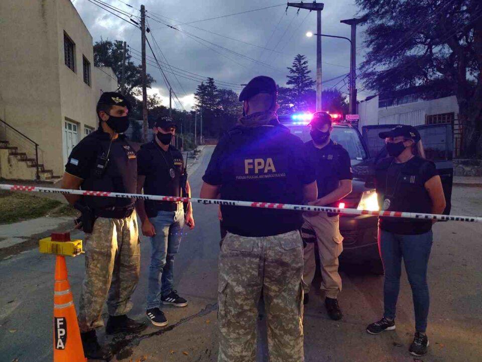 Allanamientos, detenidos y secuestro de droga en megaoperativo de antinarcotráfico