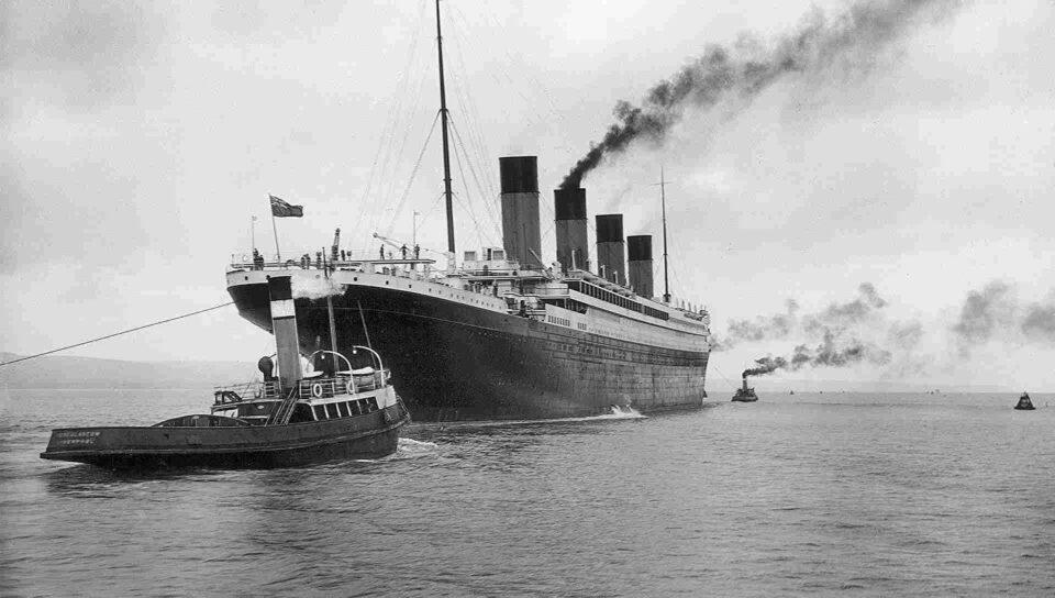 Los argentinos del Titanic